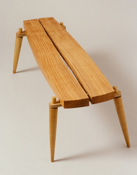 Berwyn table by bespoke furniture maker Titus Davies