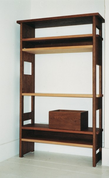 Stave display cabinet by Titus Davies